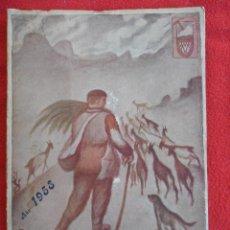 Coleccionismo deportivo: TORRECERREDO. Nº 28. 1958. AGRUPACION MONTAÑERA ASTUR. 380 GRAMOS. FOTOGRAFIAS. ANUNCIOS. MAPAS. 80. Lote 49325982