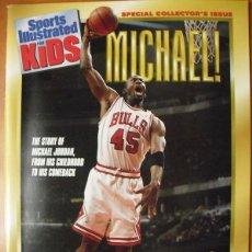 Coleccionismo deportivo: MICHAEL JORDAN - NBA - REVISTA MONOGRÁFICA ''HIS COMEBACK'' (1995) - CON PÓSTER. Lote 49387537