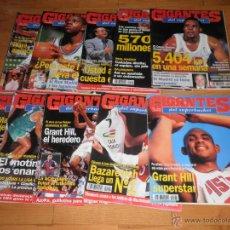 Coleccionismo deportivo: BALONCESTO. LOTE 10 REVISTAS GIGANTES DEL SUPERBASKET. 1994- 1995.. Lote 49419710