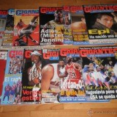 Coleccionismo deportivo: BALONCESTO. LOTE 16 REVISTAS GIGANTES DEL SUPERBASKET.1995-1996.. Lote 49419777