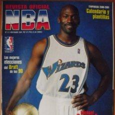 Coleccionismo deportivo: MICHAEL JORDAN - ''REVISTA OFICIAL NBA'' - RETORNO DE 2001. Lote 49687276