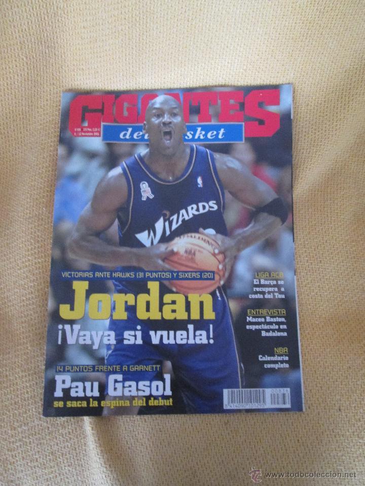 GIGANTES DEL BASKET. NO. 836 - NOVIEMBRE - 2001 (Coleccionismo Deportivo - Revistas y Periódicos - otros Deportes)