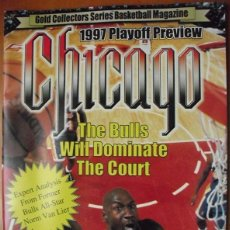 Coleccionismo deportivo: MICHAEL JORDAN & CHICAGO BULLS - REVISTA ''GOLD COLLECTORS MAGAZINE'' - PLAYOFFS 1997 - NBA. Lote 50036276