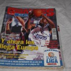 Coleccionismo deportivo: GIGANTES DEL BASKET Nº 521. ROCKETS. LIGA ACB. ALBERTO ANGULO. AMWAY. ROMAY. SABONIS. ROCKETS.. Lote 50036483