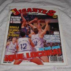 Coleccionismo deportivo: GIGANTES DEL BASKET Nº 186. DETROIT. CHICAGO. VALLADOLID. PHOENIX. LAKERS. BARÇA VS MADRID FINAL.. Lote 50048512