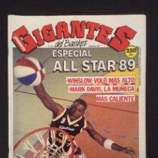 Coleccionismo deportivo: REVISTA GIGANTES DEL BASKET NUMERO Nº 213 DE 1989. Lote 50105202