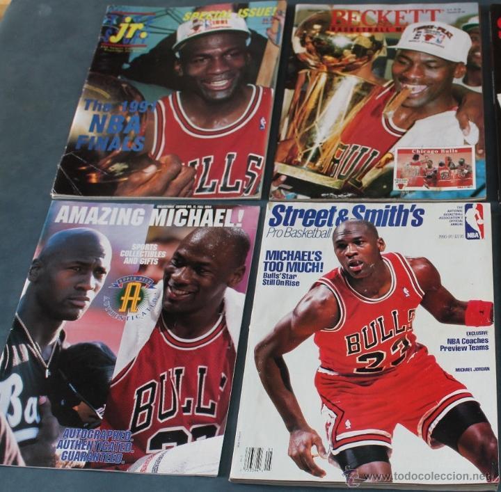 MICHAEL JORDAN - CUATRO REVISTAS AMERICANAS (1991-1994) - NBA (Coleccionismo Deportivo - Revistas y Periódicos - otros Deportes)