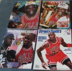 Coleccionismo deportivo: MICHAEL JORDAN - CUATRO REVISTAS AMERICANAS (1991-1994) - NBA. Lote 50134207