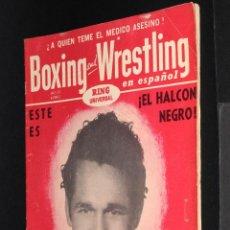 Coleccionismo deportivo: REVISTA DE BOXEO BOXING AND WRESTLING Nº 3 EN ESPAÑOL AÑO 1955. Lote 50247498