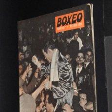 Coleccionismo deportivo: REVISTA BOXEO Nº 7 AÑO 1959 GALIANA HELSINKI ROCKY MARCIANO. Lote 50247594