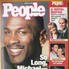 Coleccionismo deportivo: MICHAEL JORDAN - REVISTA ''PEOPLE'' - RETIRADA DE 1999 - NBA. Lote 50270136