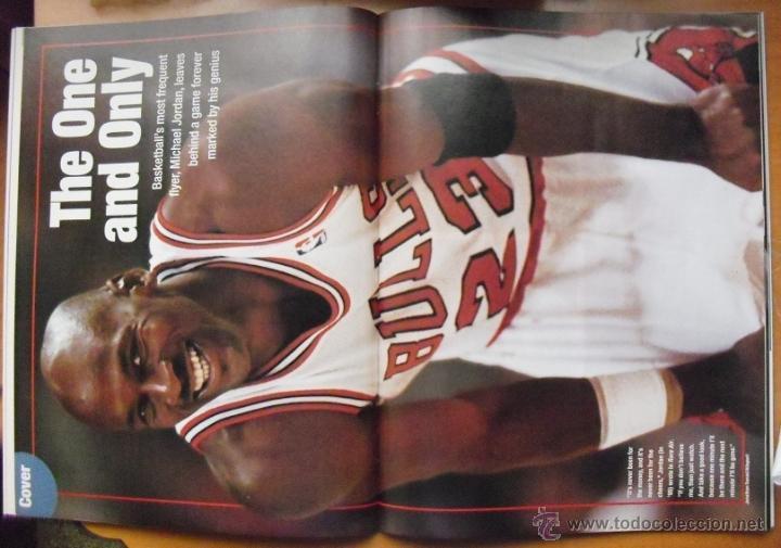 Coleccionismo deportivo: Michael Jordan - Revista People - Retirada de 1999 - NBA - Foto 3 - 50270136