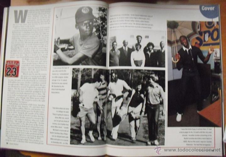 Coleccionismo deportivo: Michael Jordan - Revista People - Retirada de 1999 - NBA - Foto 4 - 50270136
