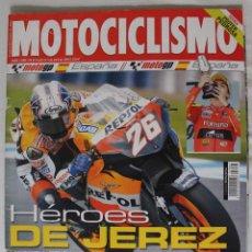 Coleccionismo deportivo: REVISTA MOTOCICLISMO Nº 1988. ABRIL 2006. Lote 50291217
