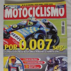 Coleccionismo deportivo: REVISTA MOTOCICLISMO Nº 1809. OCTUBRE 2002. Lote 50291485