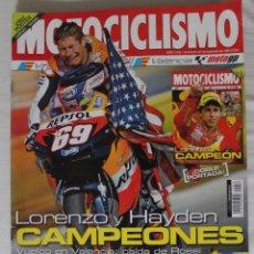 Coleccionismo deportivo: REVISTA MOTOCICLISMO Nº 2019. NOVIEMBRE 2006. Lote 50291568