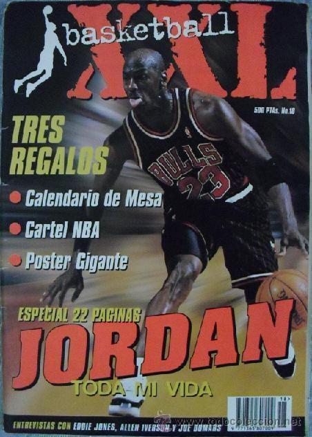MICHAEL JORDAN - REVISTA ''XXL BASKET'' (1996) - NBA (Coleccionismo Deportivo - Revistas y Periódicos - otros Deportes)