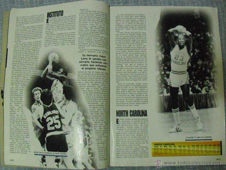 Coleccionismo deportivo: Michael Jordan - Revista ''XXL Basket'' (1996) - NBA - Foto 2 - 50337559