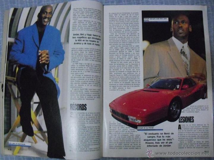 Coleccionismo deportivo: Michael Jordan - Revista ''XXL Basket'' (1996) - NBA - Foto 3 - 50337559