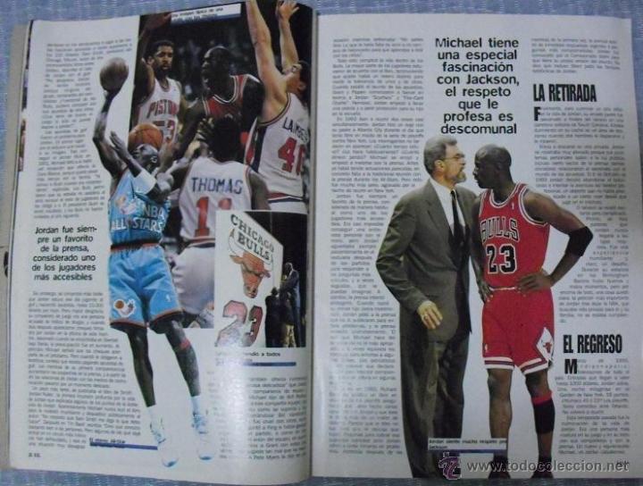 Coleccionismo deportivo: Michael Jordan - Revista ''XXL Basket'' (1996) - NBA - Foto 4 - 50337559