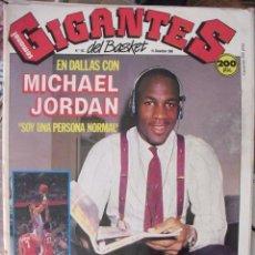 Coleccionismo deportivo: MICHAEL JORDAN - REVISTA ''GIGANTES DEL BASKET'' Nº 163 (DICIEMBRE DE 1988) - NBA. Lote 50362801