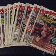 Coleccionismo deportivo: LOTE REVISTAS GIGANTES DEL BASKET 1990-91 REVISTA Nº 218-219-220-221- 222-224-227- 228-230-236-244-. Lote 50396189