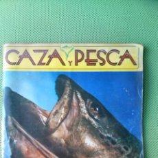 Coleccionismo deportivo: REVISTA CAZA Y PESCA Nº 412 - ABRIL 1977.. Lote 50501923
