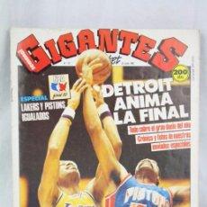 Coleccionismo deportivo: REVISTA GIGANTES DEL BASKET Nº 137 JUNIO 1988 - LAKERS / PISTONS - BALONCESTO. Lote 50514496