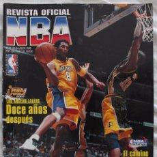 Coleccionismo deportivo: REVISTA OFICIAL NBA Nº 97 AGOSTO 2000. Lote 50517020