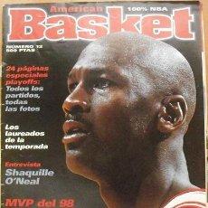 Coleccionismo deportivo: MICHAEL JORDAN - REVISTA ''AMERICAN BASKET'' Nº 12 (MAYO 1998) - JORDAN, MVP - NBA. Lote 50556530