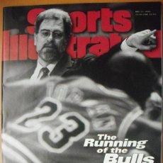 Coleccionismo deportivo: MICHAEL JORDAN & CHICAGO BULLS - REVISTA ''SPORTS ILLUSTRATED'' (MAYO 1996) - NBA. Lote 50648538