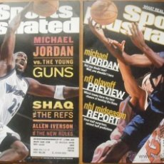 Coleccionismo deportivo: MICHAEL JORDAN (WIZARDS) - DOS REVISTAS ''SPORTS ILLUSTRATED'' (2001-2002) - NBA. Lote 50648558