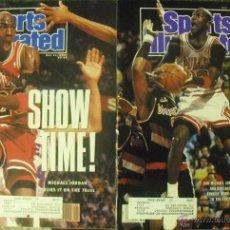 Coleccionismo deportivo: MICHAEL JORDAN & CHICAGO BULLS - DOS REVISTAS ''SPORTS ILLUSTRATED'' (1990) - NBA. Lote 50654682