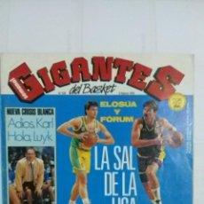 Coleccionismo deportivo: REVISTA GIGANTES DEL BASKET.Nº 326. 3 DE FEBRERO 1992. Lote 50665787