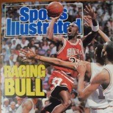 Coleccionismo deportivo: MICHAEL JORDAN & CHICAGO BULLS - REVISTA ''SPORTS ILLUSTRATED'' - ''THE SHOT'' (MAYO 1989) - NBA. Lote 50674809