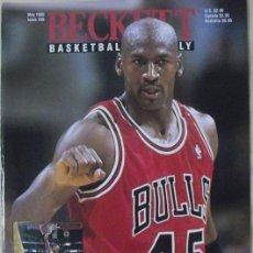 Coleccionismo deportivo: MICHAEL JORDAN & MAGIC JOHNSON - REVISTA ''BECKETT BASKETBALL'' Nº 58 (MAYO 1995) - NBA. Lote 50693195