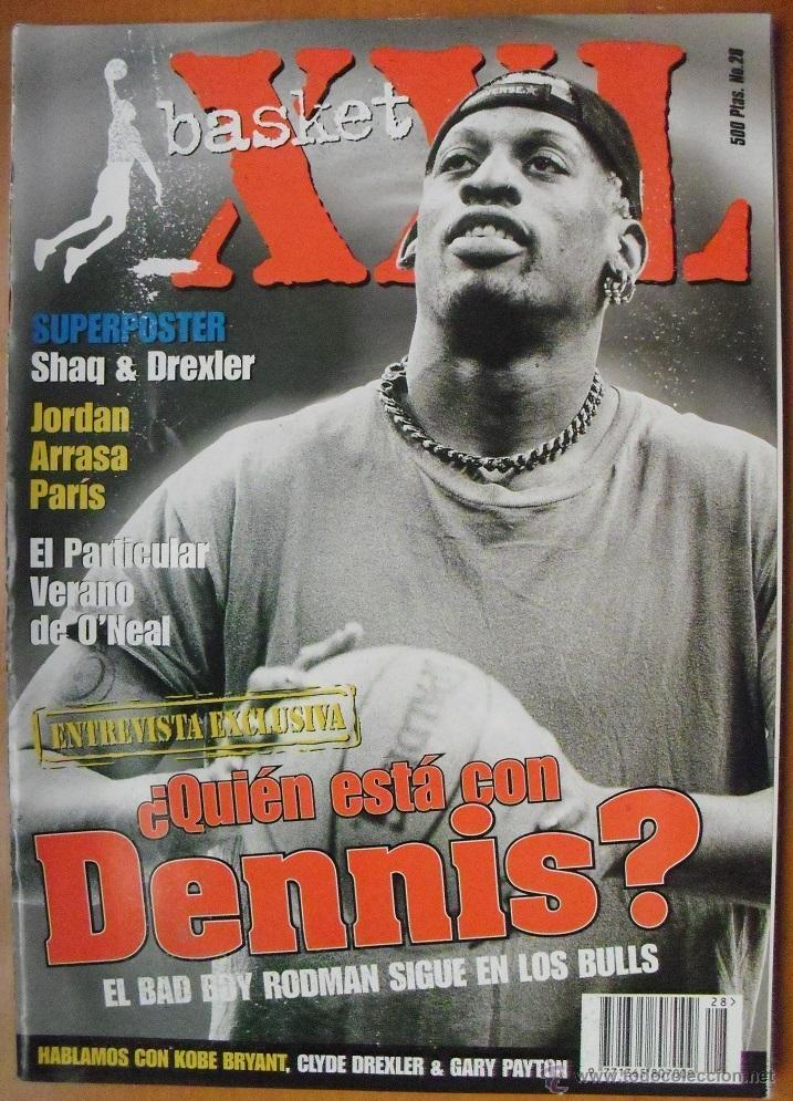 REVISTA ''XXL BASKET'' (1997) - MICHAEL JORDAN Y LOS BULLS, EN PARÍS - NBA (Coleccionismo Deportivo - Revistas y Periódicos - otros Deportes)