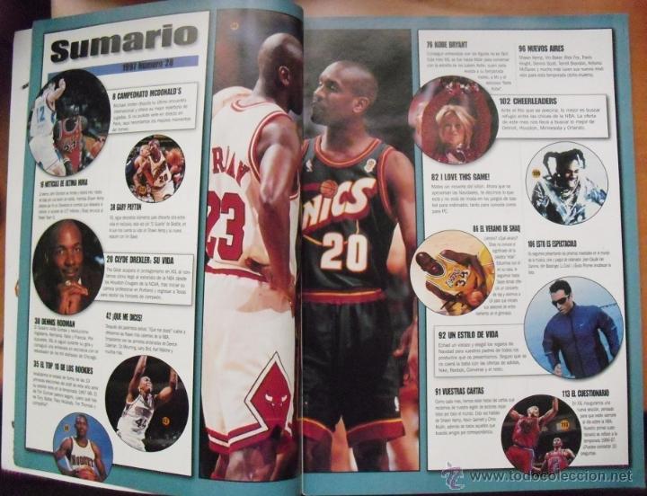 Coleccionismo deportivo: Revista ''XXL Basket'' (1997) - Michael Jordan y los Bulls, en París - NBA - Foto 4 - 50741155