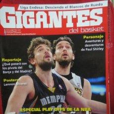 Coleccionismo deportivo: GIGANTES DEL BASKET Nº 1383 POSTERS LENNON ALVAREZ.. Lote 50750373