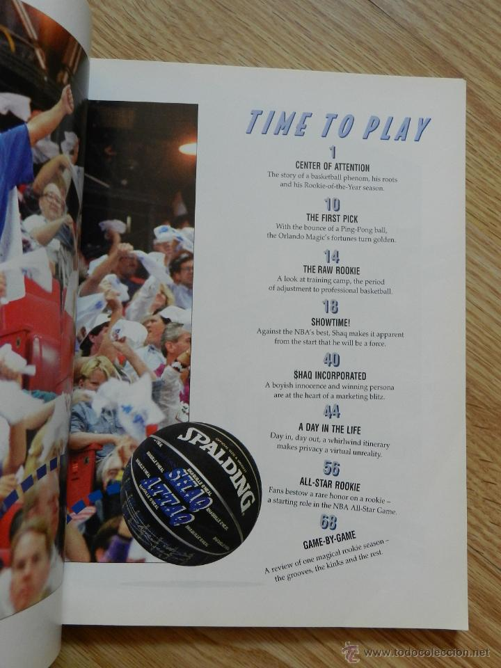 Coleccionismo deportivo: Revista americana SHAQ! That magical rookie season Shaquille O,Neal año 1993 The Orlando sentinel - Foto 3 - 50785977
