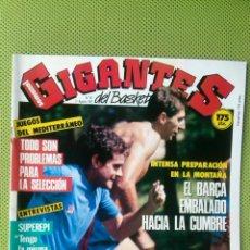 Coleccionismo deportivo: REVISTA GIGANTES DEL BASKET.Nº 95 .31 DE AGOSTO 1987. CON POSTER. Lote 50868535