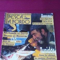 Coleccionismo deportivo: PESCA A BORDO Nº 42 FEBRERO 1999. Lote 50993094