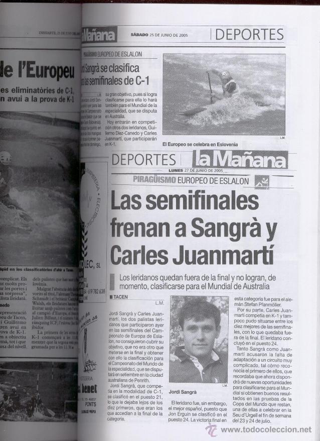 Coleccionismo deportivo: XXI RECULL ESCRIT I GRAFIC DEL PIRAGÜISME CATALÀ - ANTONI GOMEZ I VIDAL (2005) - Foto 3 - 51117366