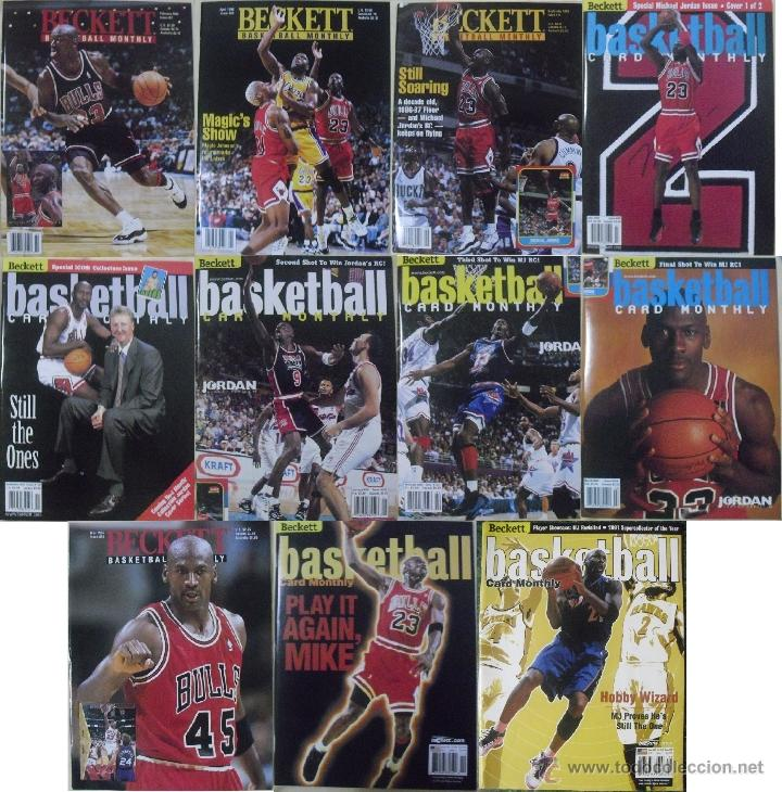 7782aba5e655 michael jordan - 13 revistas   beckett basketba - Buy Old Sport ...