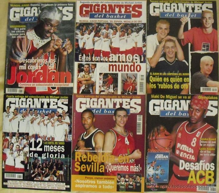 COLECCIONABLE DE MICHAEL JORDAN (1999) - REVISTAS ''GIGANTES DEL BASKET'' - NBA (Coleccionismo Deportivo - Revistas y Periódicos - otros Deportes)