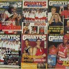 Coleccionismo deportivo: COLECCIONABLE DE MICHAEL JORDAN (1999) - REVISTAS ''GIGANTES DEL BASKET'' - NBA. Lote 51195005