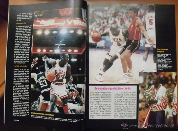 Coleccionismo deportivo: Coleccionable de Michael Jordan (1999) - Revistas Gigantes del basket - NBA - Foto 2 - 51195005