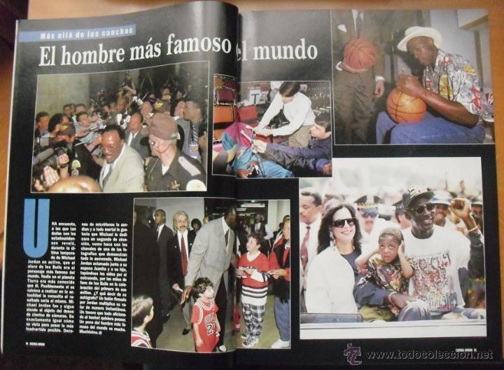 Coleccionismo deportivo: Coleccionable de Michael Jordan (1999) - Revistas Gigantes del basket - NBA - Foto 3 - 51195005
