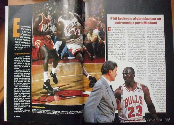 Coleccionismo deportivo: Coleccionable de Michael Jordan (1999) - Revistas Gigantes del basket - NBA - Foto 5 - 51195005