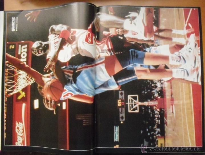 Coleccionismo deportivo: Coleccionable de Michael Jordan (1999) - Revistas Gigantes del basket - NBA - Foto 6 - 51195005